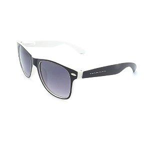 Óculos de Sol Prorider Preto e Branco Fosco  - W165