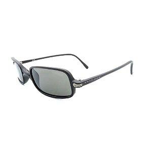 Óculos de Sol Retro Prorider Preto com Lente Fumê -