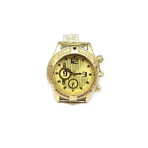 Relógio Dark Face Retro Dourado - RLRD2020