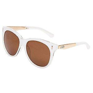 Óculos de Sol Clos Quadrado Branco