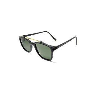 Óculos de Sol Prorider Retro Preto com Lente Verde - 20203