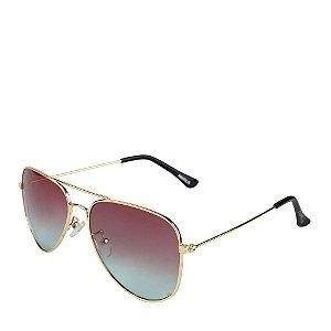 Óculos Solar Prorider Dourado - Amaralis