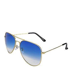 Óculos de Sol Prorider Dourado com Lente Degrade - Didg