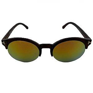Óculos de Sol Clos Redondo Preto