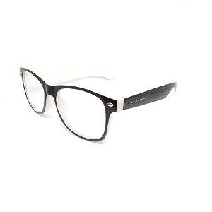 Óculos de Grau Prorider Infantil Preto e Branco - 18252