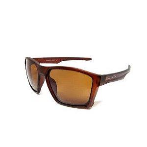Óculos Solar Prorider Quadrado Marrom lentes  Marrom - LL3094C44