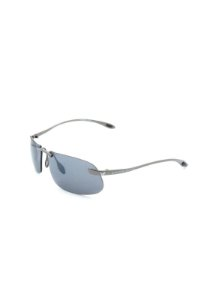 Óculos De Sol Prorider Retro Prata com lente fumê - 558