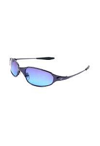 Óculos De Sol Prorider Retro Preto com lente degrade roxo-  PTRABN
