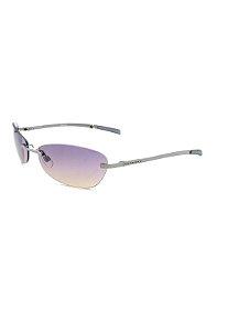 Óculos De Sol Prorider Retro Prata com lente roxa degrade- HEYDAY