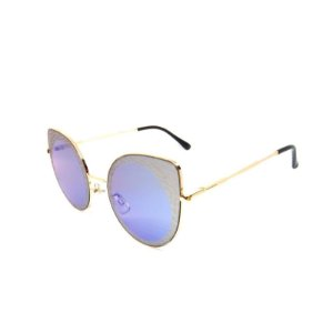 Óculos De Sol Prorider Retrô Dourado redondo B88398