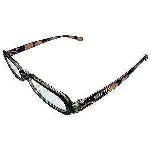 Óculos de Grau Feminino Otto Retangular