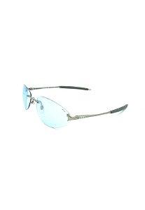 Óculos Solar Prorider retro prata com lente azul - FUS8264A