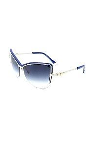 Óculos Solar Prorider  Prata e azul com Lente azul - PRAZDA