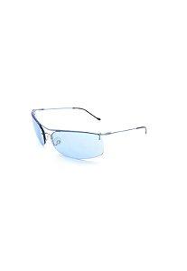 Óculos Solar Prorider  Prata com Lente azul - DL-062