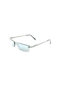 Óculos Solar Prorider retro  Prata com Lente Espelhada prata -2020PT
