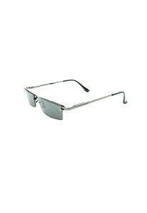 Óculos Solar Prorider Retro Prata com Lente Espelhada -2020PT