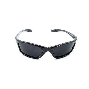 Óculos de Sol Prorider Preto Retro com Lente Fumê - 9390-1
