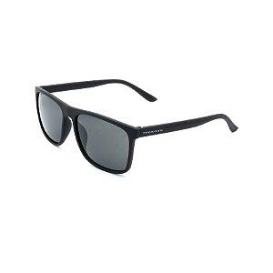 Óculos de Sol Prorider Preto Fosco Detalhado com Lente Fumê - 4439-1