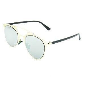 Óculos Solar Prorider Dourado e Preto Com Lentes Dourado e Preto  - OP3210C5
