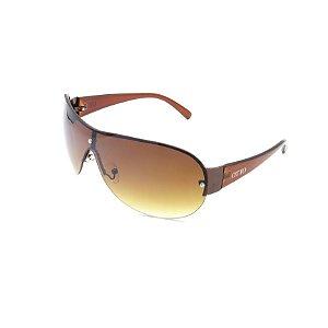 Óculos de Sol Prorider OTTO Retrô Marrom com Lente Degradê Marrom - M8015C1