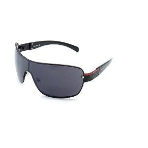 Óculos de Sol Prorider Retrô Preto Fosco com Lente Fumê - CLPPR10280803