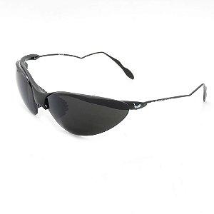 Óculos de Sol Prorider Retrô Detalhado Preto com Lente Fumê - 1NDIAN