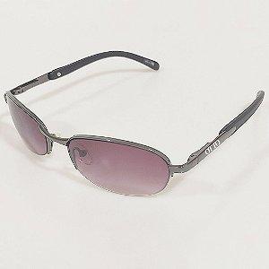 Óculos de Sol OTTO Arredondado em Metal Monel® Grafite