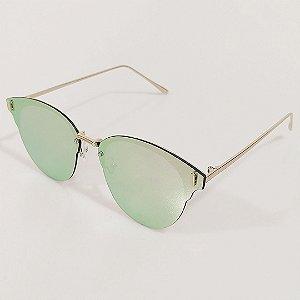 Óculos de Sol Otto Gatinho Dourado