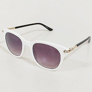 Óculos de Sol Otto Wayfarer Branco