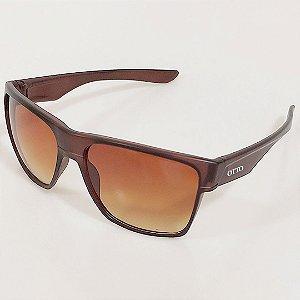 Óculos de Sol Otto Quadrado Marrom
