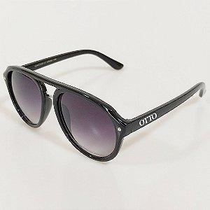 Óculos de Sol Otto Redondo Preto