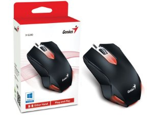 MOUSE GAMER GENIUS X-G200 USB PRETO