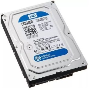 Hd Wd Sata 3,5 Blue Pc 500gb 7200rpm Wd5000azlx