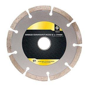 Disco Diamantado Makita 5x7mm Seco Ou Molhado Para Concreto