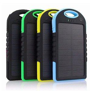 Carregador Solar Universal Portátil à Prova D'água