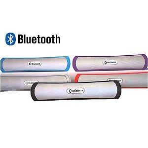 Caixa Som Portátil Bluetooth SD USB Rádio FM P2 BE-13A