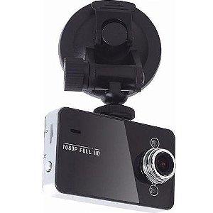 "Câmera Filmadora Veicular Tela 2.7"" Full HD 1080P C/ Visão Noturna"