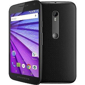 """Celular Smartphone Motorola Moto G (3ª Geração) Single Chip Android 5.1 Tela 5"""" 16GB 4G Wi-Fi Câmera 13MP"""