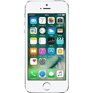 "iPhone 5S 16GB Prata Tela 4"" IOS 8 4G Câmera de 8MP - Apple"