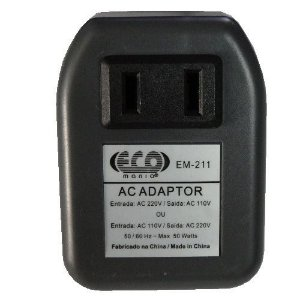 Transformador Adaptador Bivolt Conversor 110v-220v 50 Watts
