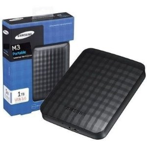 HD Externo de Bolso 1TB Samsung Slim USB 3.0 M3