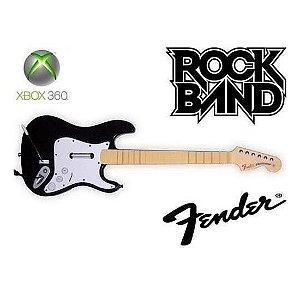 Guitarra Fender Xbox 360 Pc Rock Band Guitar Hero