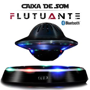 Caixa de Som Flutuante Bluetooth Celular PC Tablet Speaker