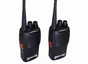 Radio Comunicador Walk Talk Baofeng Bf-777s c/ Antena e Fone