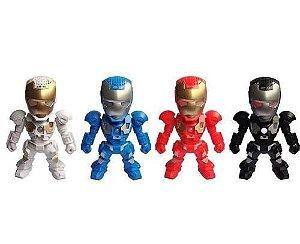 Caixinha de Som Iron Man Homem de Ferro PC MP3 FM Pendrive