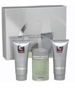 Kit Perfume Carrera Tradicional Masculino EDT 100ml + After Shave 200ml + Shower Gel 200ml