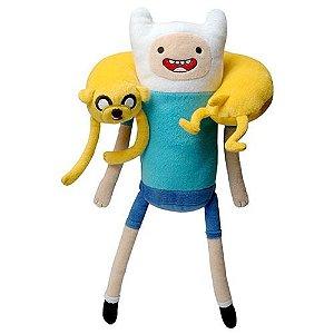 Pelúcia Finn e Jake Adventure Time com Reconhecimento de Voz - Candide