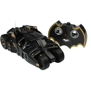 Carro Batmovel Batman The Dark Knight Rises Com Controle Remoto - Candide