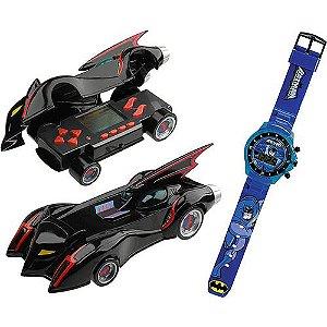 Auto Game Batman Veiculo Minigame + Relógio Digital - Candide