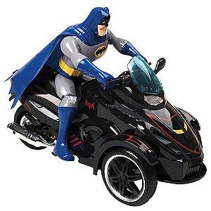 Triciclo do Batman de Controle Remoto 7 Funções - Candide